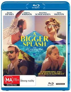 A Bigger Splash [Blu-ray]