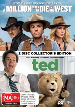 A Million Ways to Die in the West/Ted [DVD]