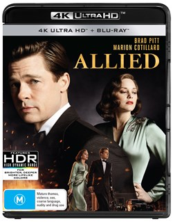 Allied (4K Ultra HD + Blu-ray) [UHD]