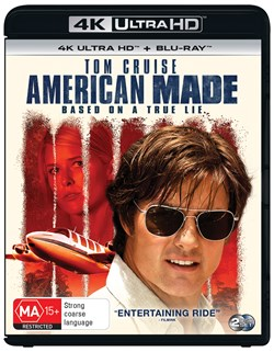American Made (4K Ultra HD + Blu-ray + Digital Download) [UHD]