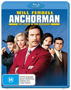 Anchorman - The Legend of Ron Burgundy [Blu-ray]