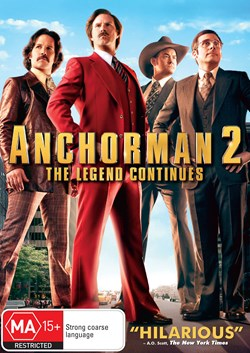 Anchorman 2 - The Legend Continues [DVD]