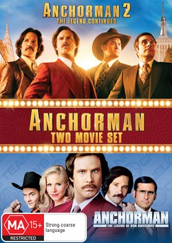 Anchorman/Anchorman 2 [DVD]