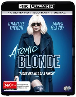 Atomic Blonde (4K Ultra HD + Blu-ray + Digital Download) [UHD]