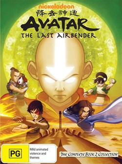 Avatar - The Last Airbender - The Complete Book 2 Collection [DVD]