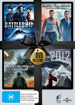 Battleship/White House Down/Battle: Los Angeles/2012 [DVD]
