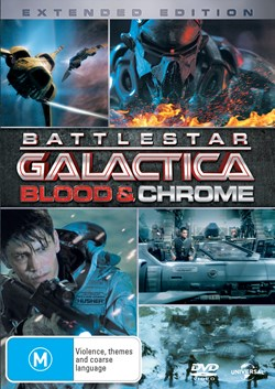Battlestar Galactica: Blood and Chrome [DVD]