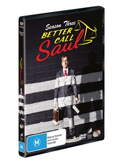 Better Call Saul: Season Three [DVD]