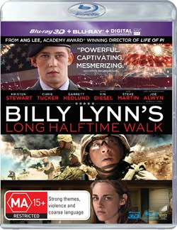 Billy Lynn's Long Halftime Walk (3D Edition with 2D Edition) [Blu-ray]