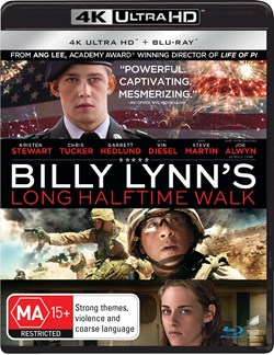 Billy Lynn's Long Halftime Walk (4K Ultra HD + Blu-ray) [UHD]