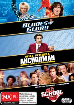 Blades of Glory/Old School/Anchorman [DVD]