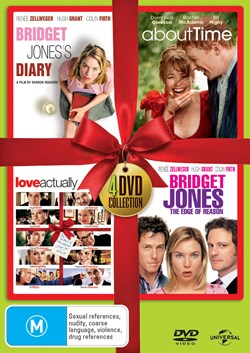 Bridget Jones's Diary/About Time/Love Actually/Bridget Jones... [DVD]