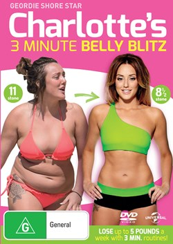 Charlotte Crosby's 3 Minute Belly Blitz [DVD]