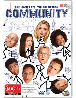 Community: The Complete Third Season [DVD]