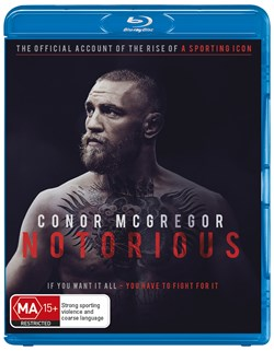 Conor McGregor: Notorious - The Fighting Irish [Blu-ray]                  [Blu-ray]