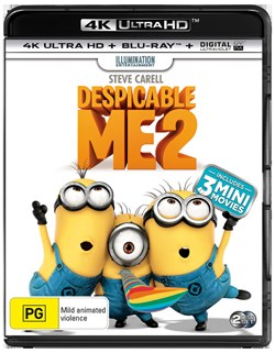 Despicable Me 2 (4K Ultra HD + Blu-ray + Digital UV Copy) [Blu-ray]