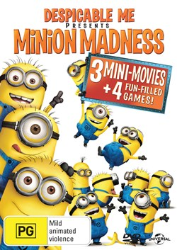 Despicable Me Presents Minion Madness [DVD]