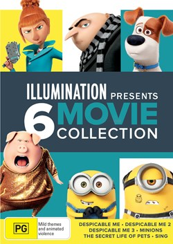 Illumination Presents: 6-movie Collection [DVD]