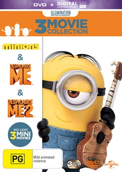Despicable Me/Despicable Me 2/Minions (with Digital Download) [DVD]