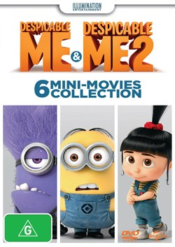 Despicable Me/Despicable Me 2: 6 Mini-movies Collection [DVD]