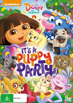 Dora the Explorer: It's a Puppy Party! [DVD]