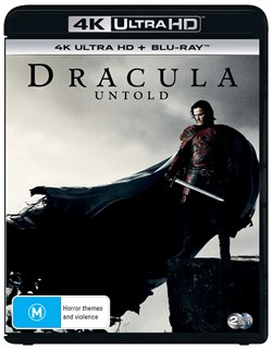 Dracula Untold (4K Ultra HD + Blu-ray + Digital UV Copy) [Blu-ray]