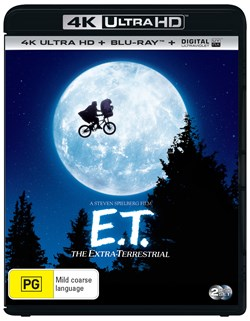 E.T. The Extra Terrestrial (4K Ultra HD + Blu-ray + Digital UV Copy) [Blu-ray]