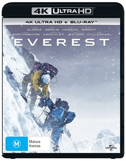 Everest (4K Ultra HD + Blu-ray + Digital UV Copy) [Blu-ray]