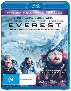 Everest (3D Edition with 2D Edition) [Blu-ray]