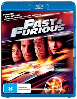 The Fast & the Furious 4 [Blu-ray]                                         [Blu-ray]