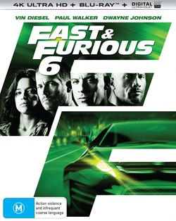 Fast & Furious 6 (4K Ultra HD + Blu-ray + Digital UV Copy) [Blu-ray]