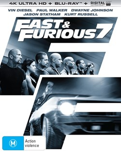 Fast & Furious 7 (4K Ultra HD + Blu-ray + Digital UV Copy) [Blu-ray]