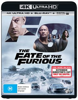 Fast & Furious 8 (4K Ultra HD + Blu-ray + Digital Download) [UHD]