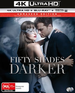 Fifty Shades Darker (4K Ultra HD + Blu-ray + Digital UV Copy) [Blu-ray]