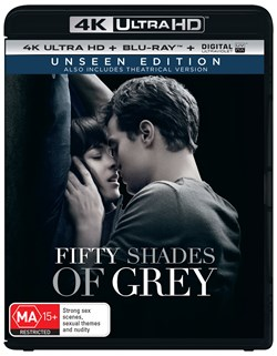 Fifty Shades of Grey (4K Ultra HD + Blu-ray + Digital UV Copy) [Blu-ray]