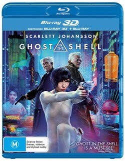 Ghost in the Shell (3D Edition with 2D Edition) [Blu-ray]