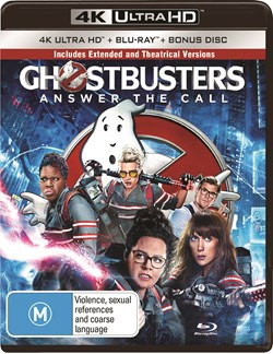 Ghostbusters (4K Ultra HD + Blu-ray + Digital Download) [UHD]