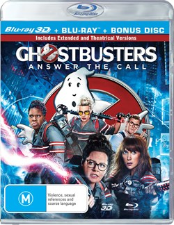 Ghostbusters (3D Edition with 2D Edition) [Blu-ray]