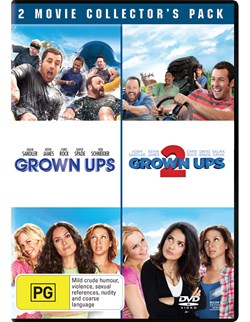 Grown Ups/Grown Ups 2 [DVD]