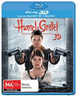 Hansel and Gretel: Witch Hunters (3D Edition with 2D Edition) [Blu-ray]