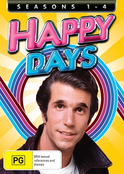 Happy Days: Seasons 1-4 [DVD]