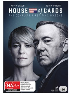 House of Cards: Seasons 1-5 [DVD]