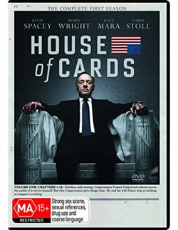House of Cards: The Complete First Season [DVD]