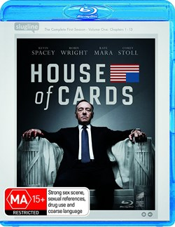 House of Cards: The Complete First Season [Blu-ray]
