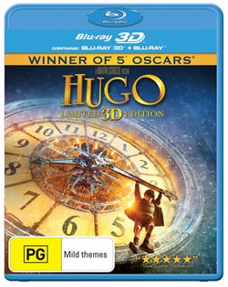 Hugo (3D Edition with 2D Edition) [Blu-ray]