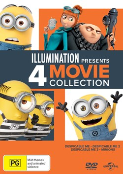 Illumination Presents: 4-movie Collection [DVD]