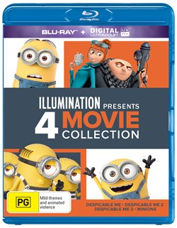 Illumination Presents: 4-movie Collection [Blu-ray]
