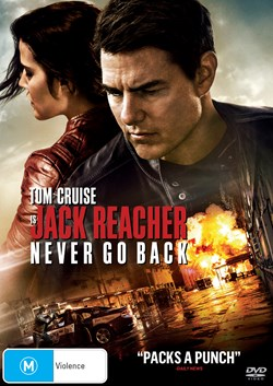 Jack Reacher - Never Go Back [DVD]