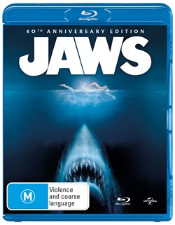 Jaws (40th Anniversary Edition) [Blu-ray]