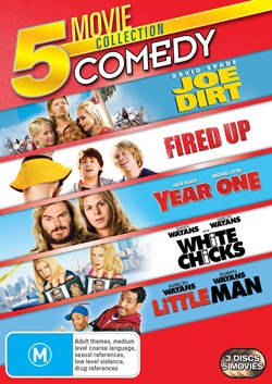 Joe Dirt/Fired Up!/Year One/White Chicks/Little Man [DVD]